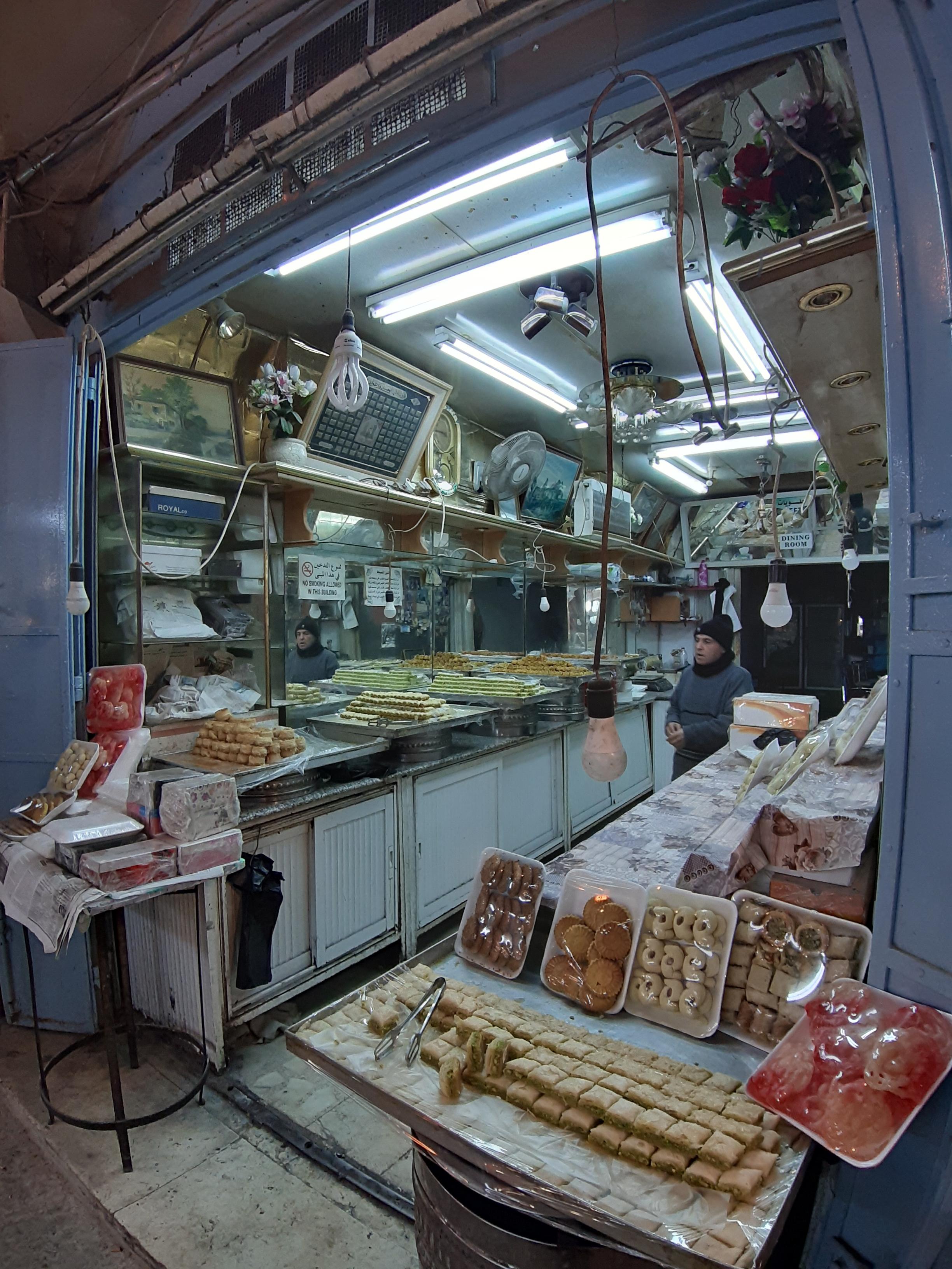 'Dining Room': baklavawinkel in de Oude Stad van Jeruzalem