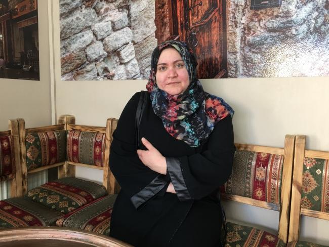 Ook Miryam Abdullah (34), een alleenstaande moeder met drie kinderen, vond via de Nederlandse ngo legaal werk in Istanboel.