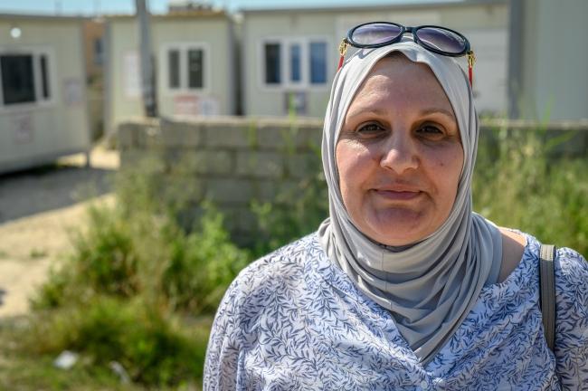 Hala Sabah Jameel (Foto: Mickael Franci / Cordaid)