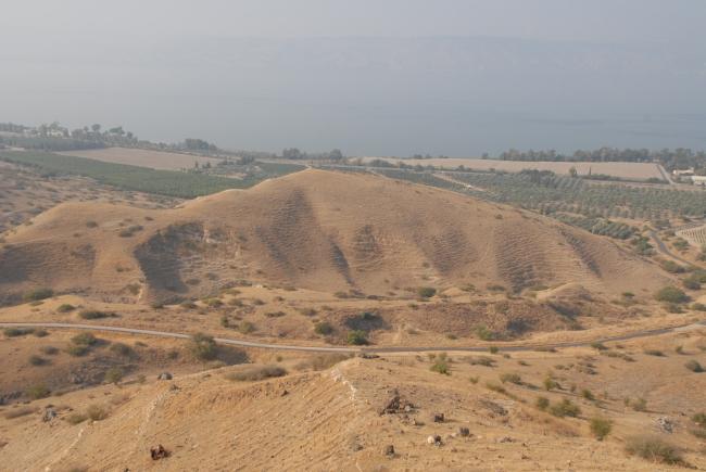 De Jordaanvallei. Foto Udi Steinwell Pikiwiki Israel Attribution 2.5 Generic