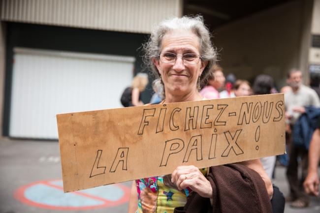 BDS-demonstratie in Toulouse, Frankrijk (foto: Pablo029).