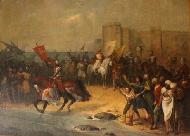 Koning Alfonso X van Castilië (1221-1284) veroverde de stad Cádiz in 1264 op de moslims tijdens de zogeheten reconquista, die nog eeuwen zou duren ©Public Domain