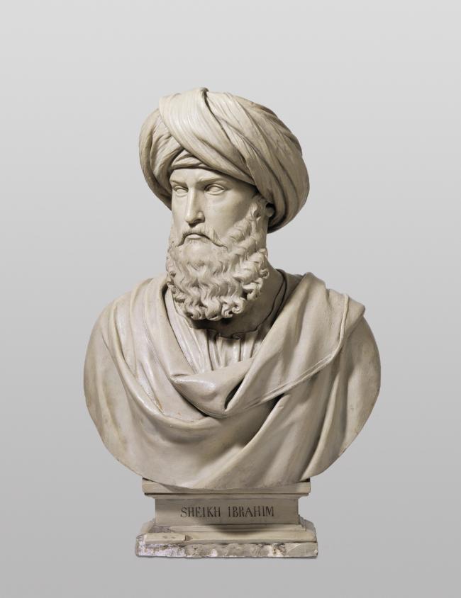 Sjeik Ibrahim Ibn Abdallah (Foto ter beschikking gesteld door het historische museum Bazel)