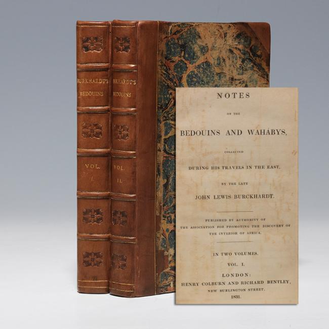 Burckhardts tweedelige monografie over bedoeïenen den de Wahabieten