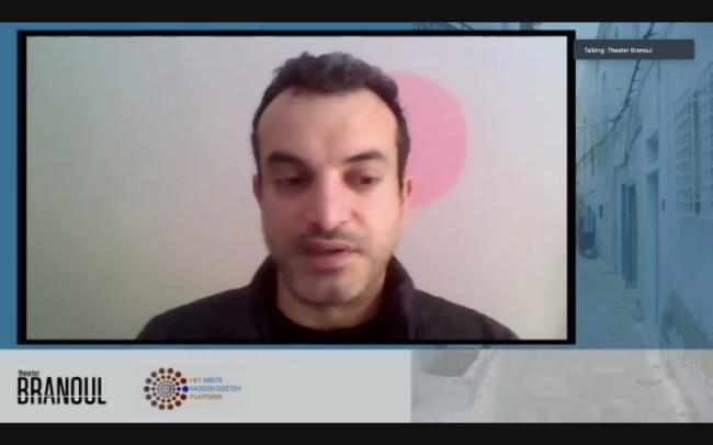 Mohamed Rabie deelt zijn ervaringen met Isabella van Doorne en Vanessa Lambrecht