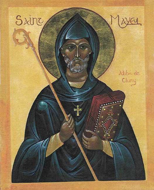 Majolus van Cluny werd 973 tegen een losgeld van 1000 pond zilver door de Saracenen vrijgelaten