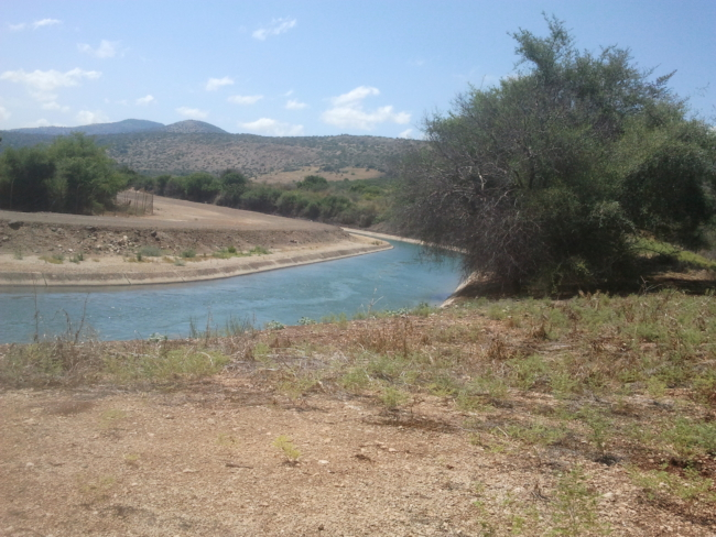 De Israëlische National Water Carrier. Bron: Wikimedia Commons