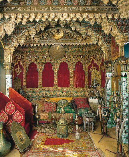 Rariteitenkabinet: Een van de vele ruimtes in het huis van Pierre Loti in Rochefort