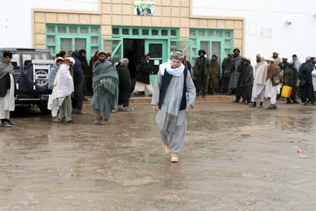 Ziekenhuis in Lashkar Gah, provincie Helmand.